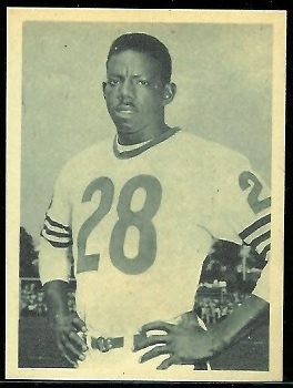 Willie Galimore 1961 Fleer Wallet Pictures football card