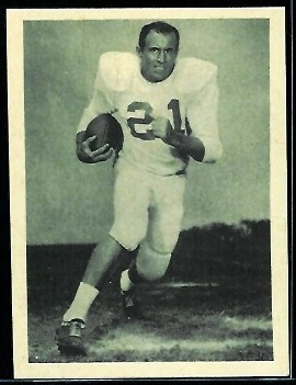 Bill Atkins 1961 Fleer Wallet Pictures football card