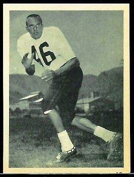 Goose Gonsoulin 1961 Fleer Wallet Pictures football card