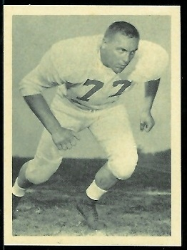 Gene Grabosky 1961 Fleer Wallet Pictures football card