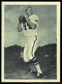 Jimmy Harris 1961 Fleer Wallet Pictures football card