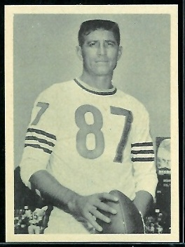 Harlon Hill 1961 Fleer Wallet Pictures football card