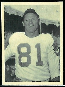 Bill Howton 1961 Fleer Wallet Pictures football card