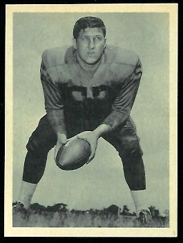 Mike Hudock 1961 Fleer Wallet Pictures football card