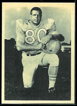 Al Jamison 1961 Fleer Wallet Pictures football card