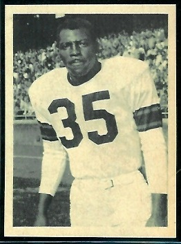 John Henry Johnson 1961 Fleer Wallet Pictures football card