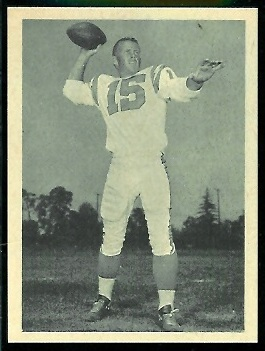 Jack Kemp 1961 Fleer Wallet Pictures football card
