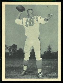 Jack Kemp 1961 Fleer Wallet Pictures football card