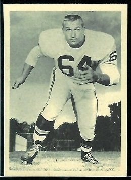 Bill Krisher 1961 Fleer Wallet Pictures football card