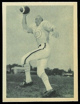 Jack Lee 1961 Fleer Wallet Pictures football card