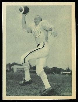 Jack Lee 1961 Fleer Wallet Pictures football card