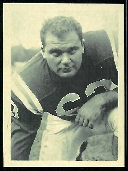 Charley Leo 1961 Fleer Wallet Pictures football card