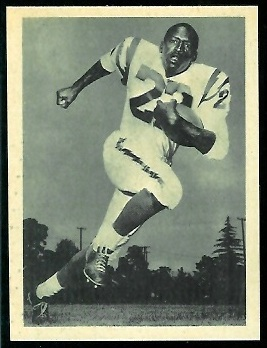 Paul Lowe 1961 Fleer Wallet Pictures football card