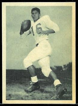 Richie Lucas 1961 Fleer Wallet Pictures football card