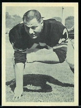Don Manoukian 1961 Fleer Wallet Pictures football card