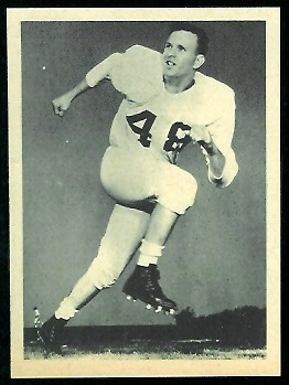 Rich McCabe 1961 Fleer Wallet Pictures football card
