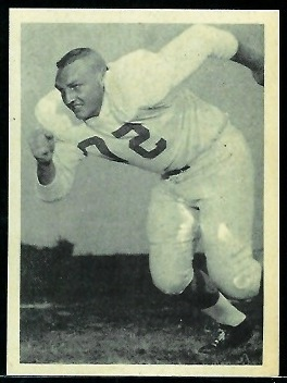 Dan McGrew 1961 Fleer Wallet Pictures football card