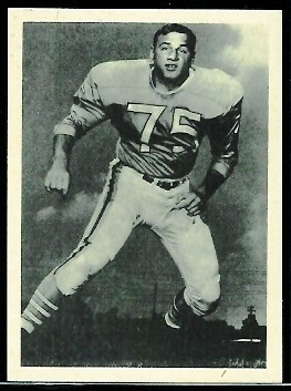 Rich Michael 1961 Fleer Wallet Pictures football card