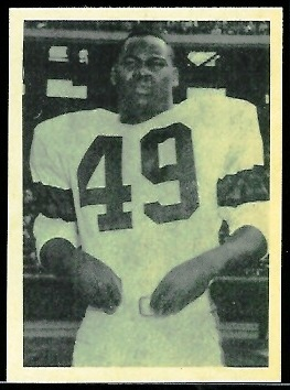 Bobby Mitchell 1961 Fleer Wallet Pictures football card