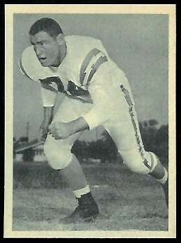 Ron Mix 1961 Fleer Wallet Pictures football card
