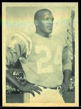 Lenny Moore 1961 Fleer Wallet Pictures football card