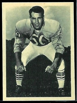 Dennit Morris 1961 Fleer Wallet Pictures football card