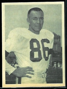 Gern Nagler 1961 Fleer Wallet Pictures football card