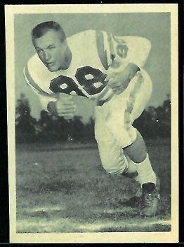 Don Norton 1961 Fleer Wallet Pictures football card