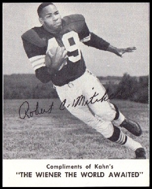 Bobby Mitchell 1961 Kahns football card
