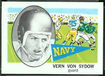 Vern Von Sydow 1961 Nu-Card football card