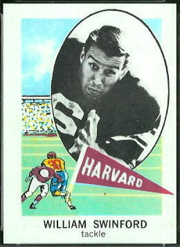 Bill Swinford 1961 Nu-Card football card