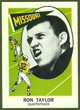 Ron Taylor 1961 Nu-Card football card