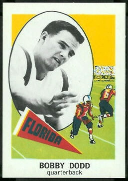 Bobby Dodd Jr 1961 Nu-Card football card