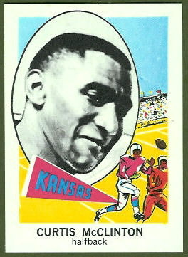 Curtis McClinton 1961 Nu-Card football card