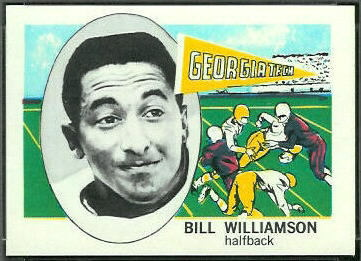 Bill Williamson 1961 Nu-Card football card