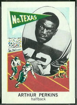 Art Perkins 1961 Nu-Card football card