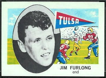 Jim Furlong 1961 Nu-Card football card