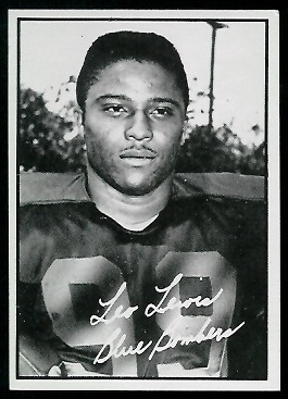 Leo Lewis 1961 Topps CFL football card