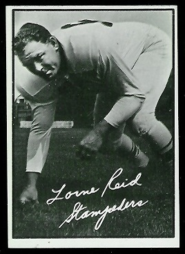 Lorne Reid 1961 Topps CFL football card