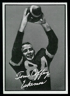 Tommy Joe Coffey 1961 Topps CFL football card