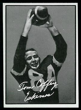 Tommy Joe Coffey 1961 Topps CFL football card