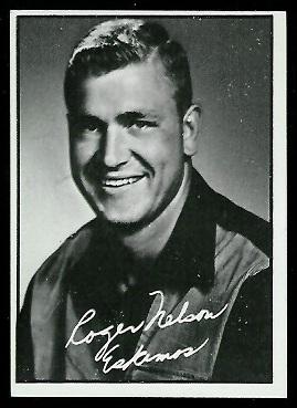Roger Nelson 1961 Topps CFL football card