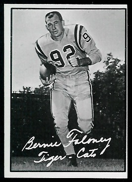 Bernie Faloney 1961 Topps CFL football card