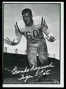 Bronko Nagurski Jr. 1961 Topps CFL football card