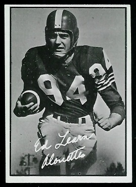Ed Learn 1961 Topps CFL football card