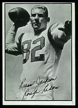 Russ Jackson 1961 Topps CFL football card