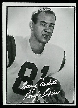 Gerry Nesbitt 1961 Topps CFL football card