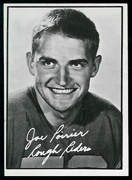 Joe Poirier 1961 Topps CFL football card