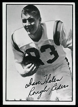 Dave Thelen 1961 Topps CFL football card