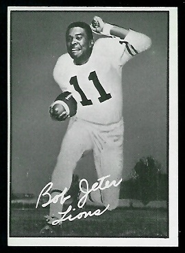 Bob Jeter 1961 Topps CFL football card
